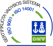 ISO 9001 / ISO 14001 sertifikatas